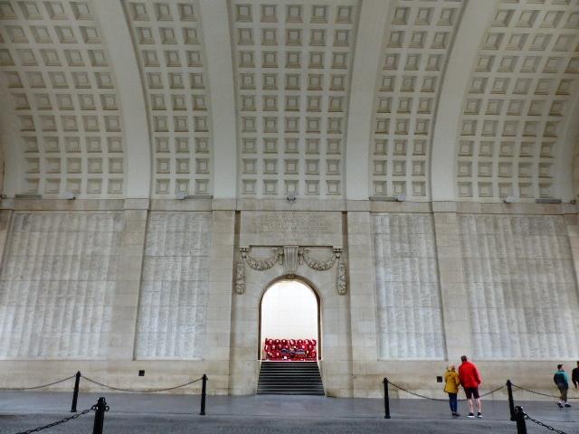 La fameuse Porte de Menin à Ypres