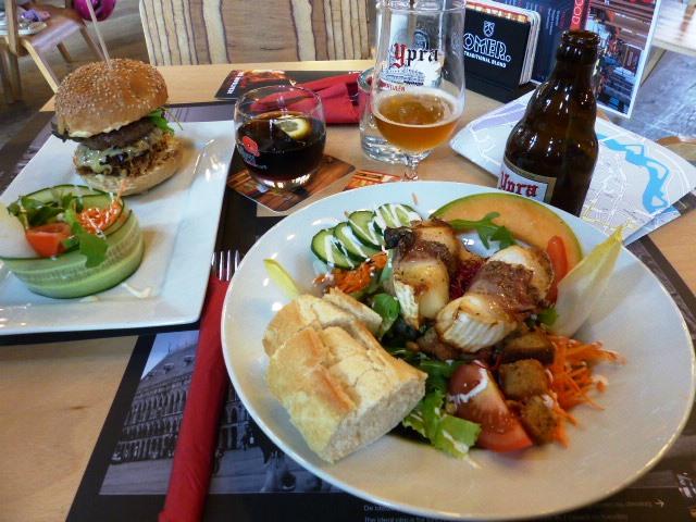 Le bistro du Musée In Flanders Fields propose une cuisine simple et de qualité