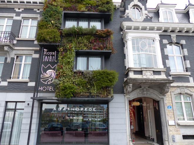 Le Royal Snail hôtel de Namur