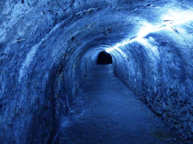 Visite des souterrains de la Citadelle de Namur