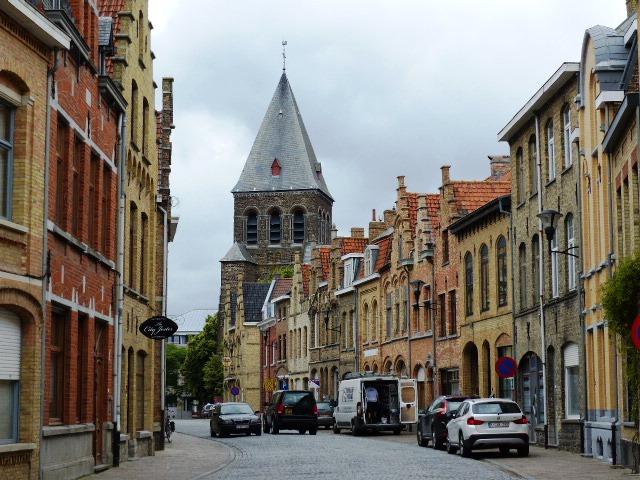 Se perdre dans les ruelles d'Ypres un réel plaisir