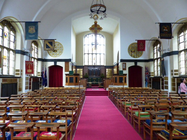 St George's Church est devenu au fil du temps, un monument à la mémoire des morts britanniques mais pas que