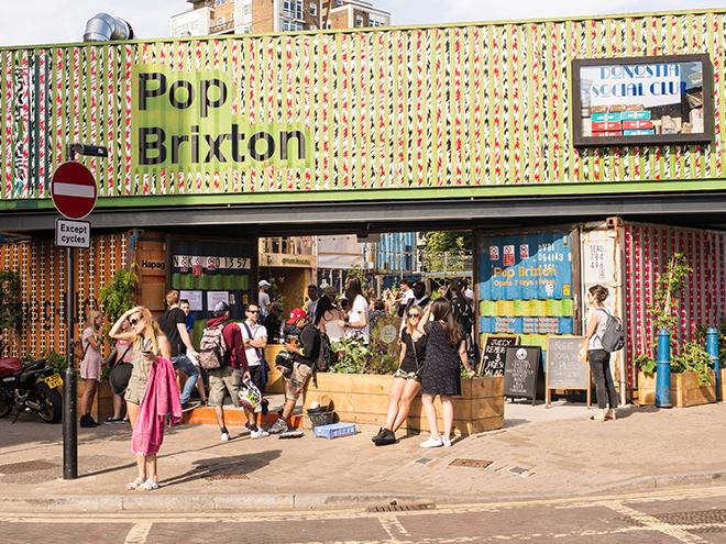 Pop Brixton Entree