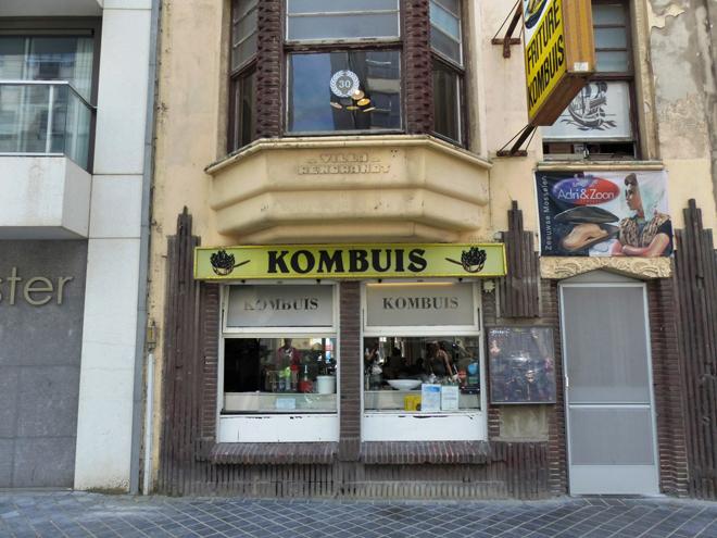 Kombius un restaurant qui ne paye pas de mine et pourtant ...