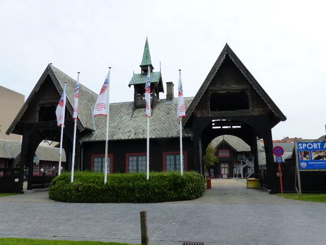 La salle de sport à Ostende où Marvin Gaye s'est remis au sport