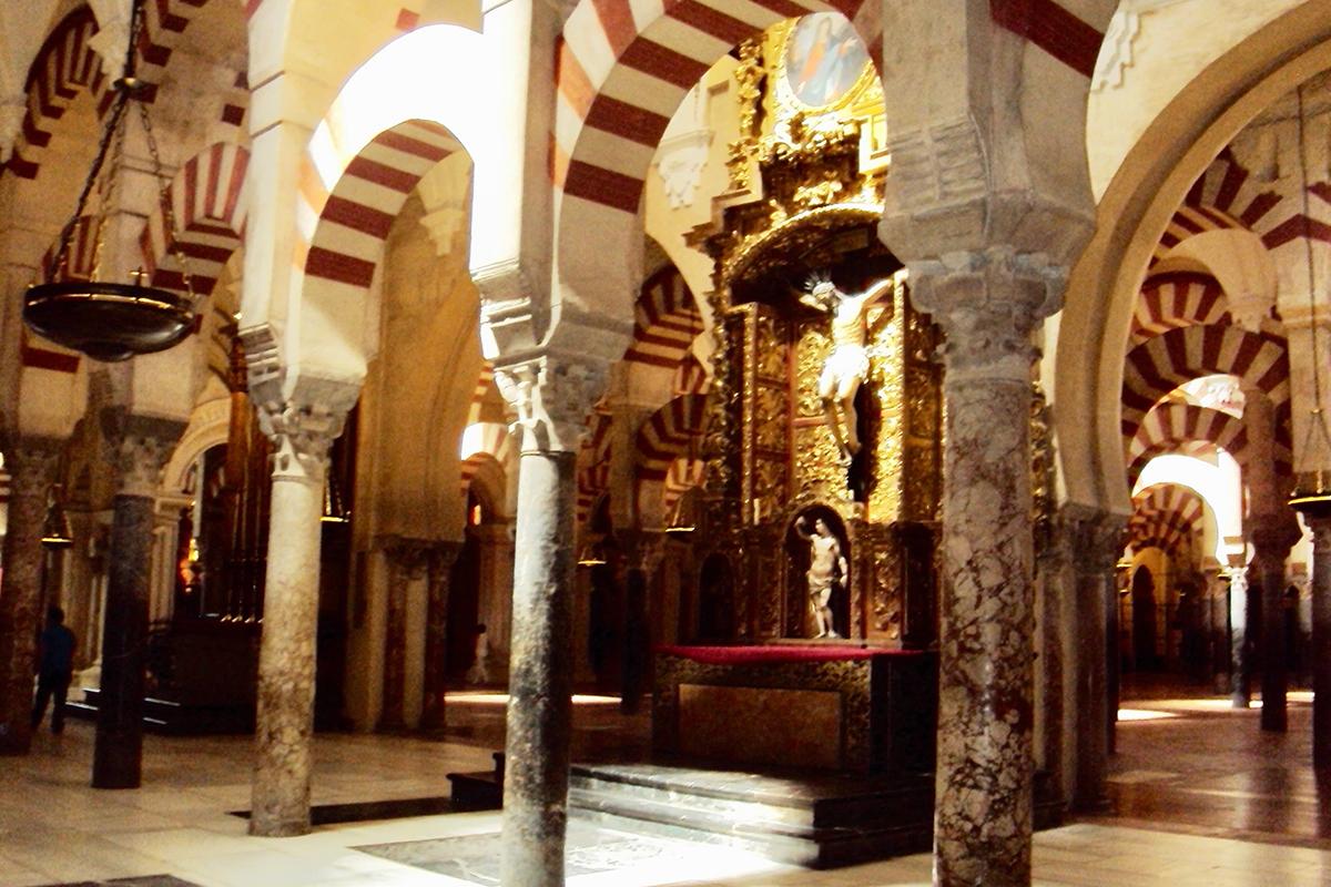 Interieur Mesquita Cordoue Mezquita Cordoba Andalousie