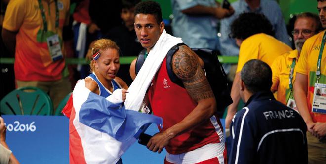 Estelle Mossely et Tony Yoka, champions Olympiques