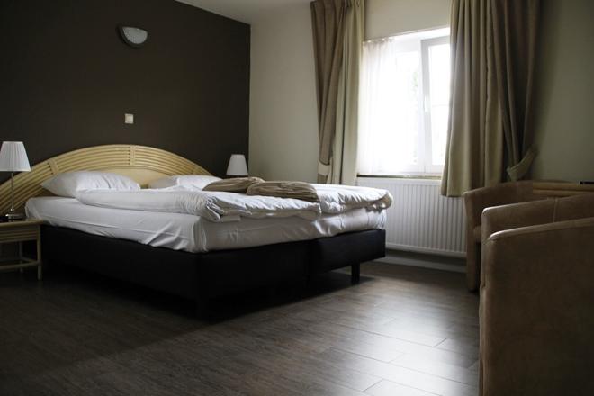 Notre chambre à l'hôtel du Grenier des Grottes à Han sur Lesse