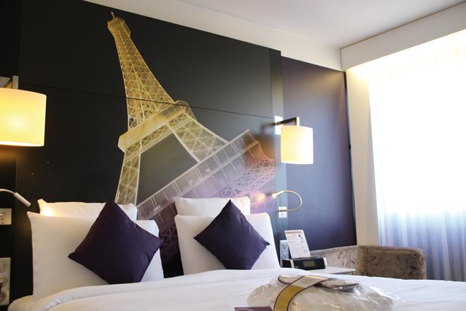 Chambre de l'hôtel Mercure Centre Tour Eiffel Paris