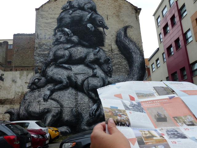 The Crystal Ship, festival de street-art à Ostende