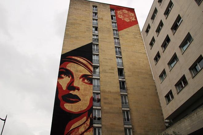 Street-art Paris 13 eme arrondissement