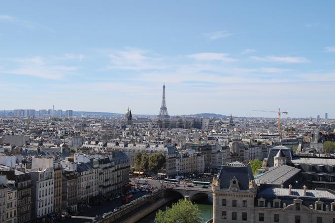 Tours de Notre Dame de Paris
