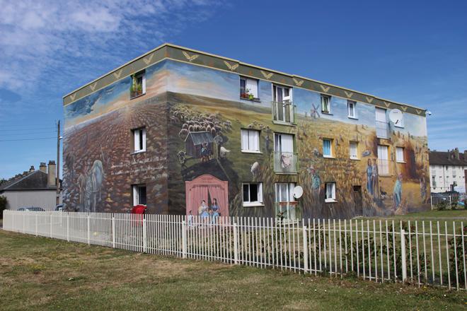 Les fresques de Bel-Air – Chartres