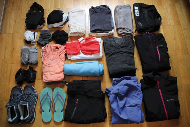 Vêtements femme pour notre Tour du Monde