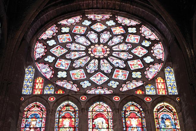 Magnifiques vitraux de Chartres