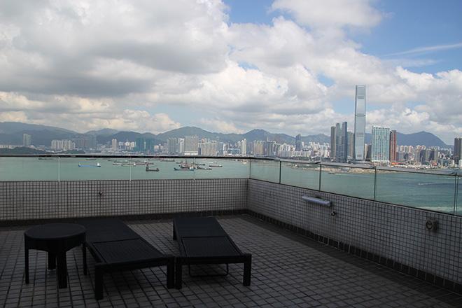 rooftop-citadines-harbourview dormir à Hong Kong