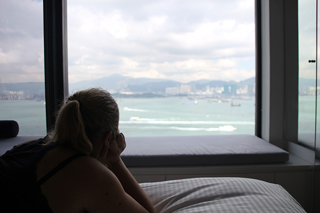 vue-citadines-harbourview dormir à Hong Kong