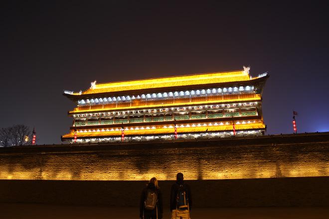 Cour de la porte Sud des remparts de Xi'an