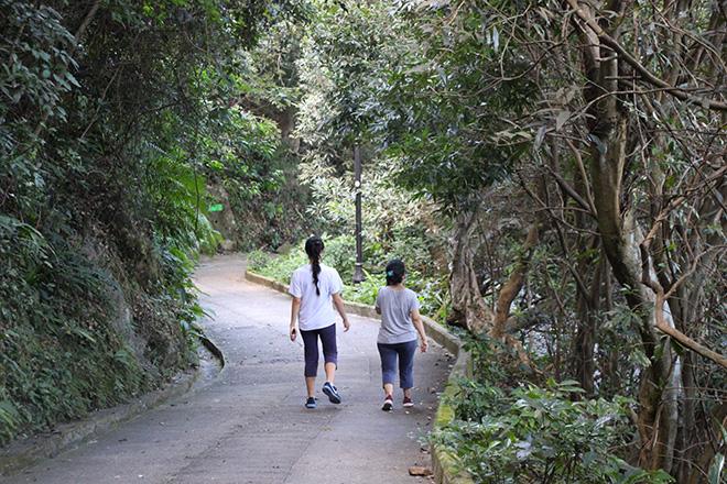 Descente à pieds depuis Victoria Peak
