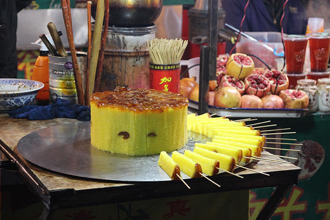 Dessert dans le quartier musulman de Xi'an