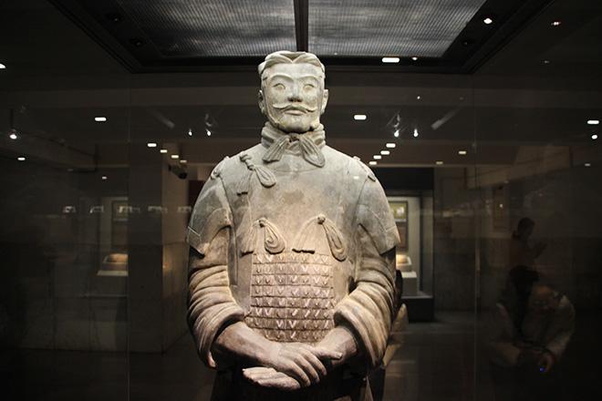 Général de l'armée de terre cuite à Xi'an
