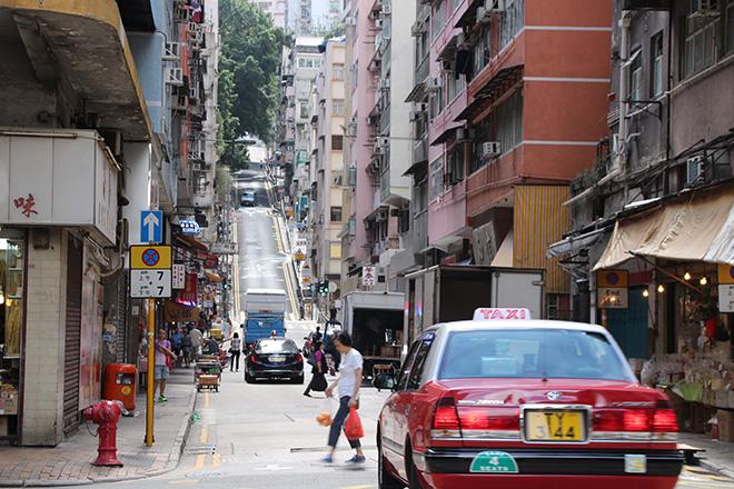 Non Hong Kong ce n'est pas plat