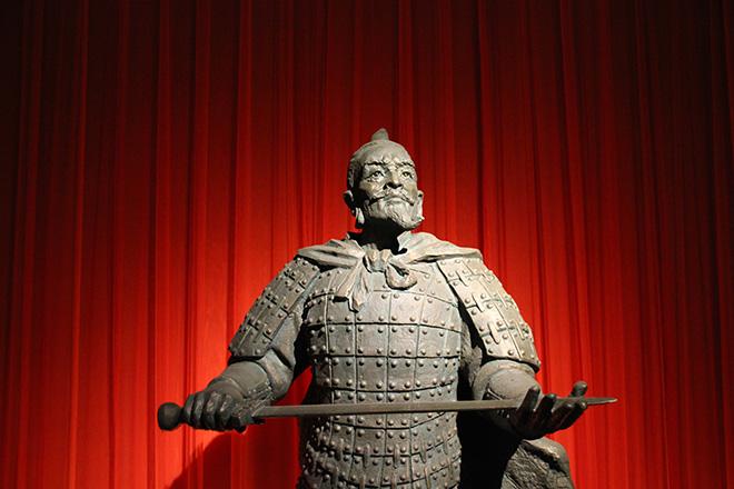 Musée de l'armée des soldats en terre cuite à Xi'an