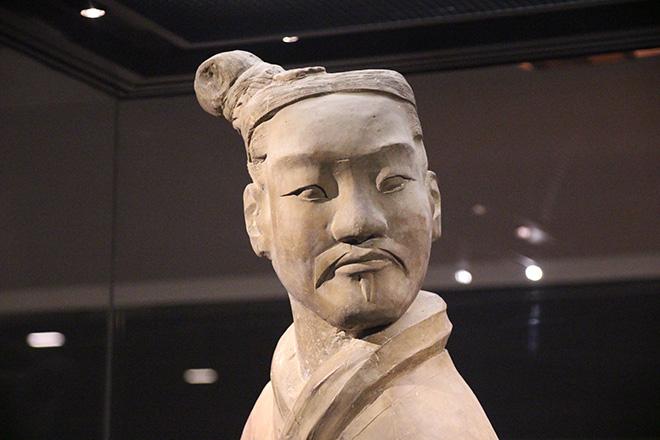 Officier de l'armée de terre cuite à Xi'an