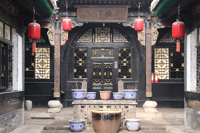 Cour traditionnelle Pingyao