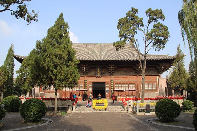 Le temple confucius à Pingyao en Chine