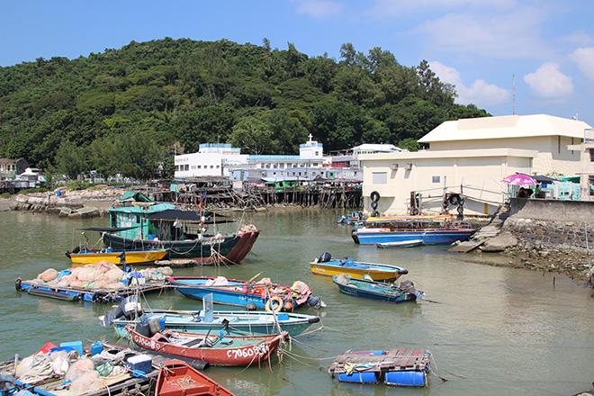 Le village de pêcheurs de Tai O sur l'île de Lantau
