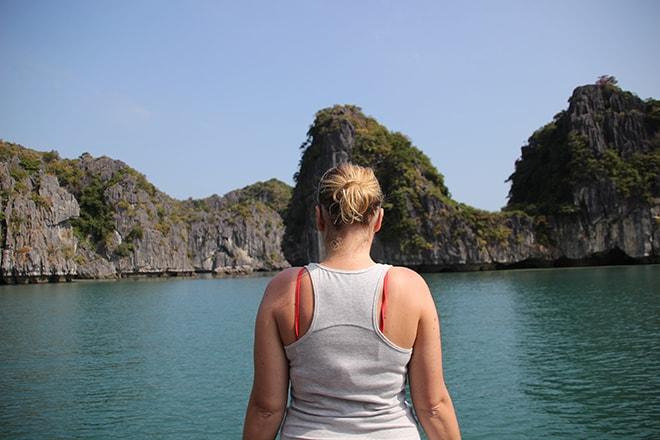 Baie de Halong Cat Ba vue croisière dans la Baie d'Halong