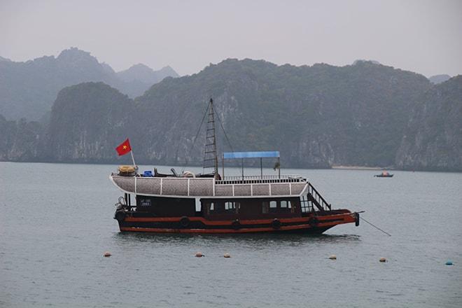 Bateau croisière Baie de Halong Cat Ba