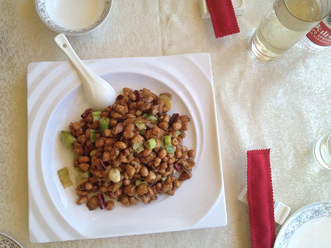 Gongbao Jiding un plat typique du Sichuan