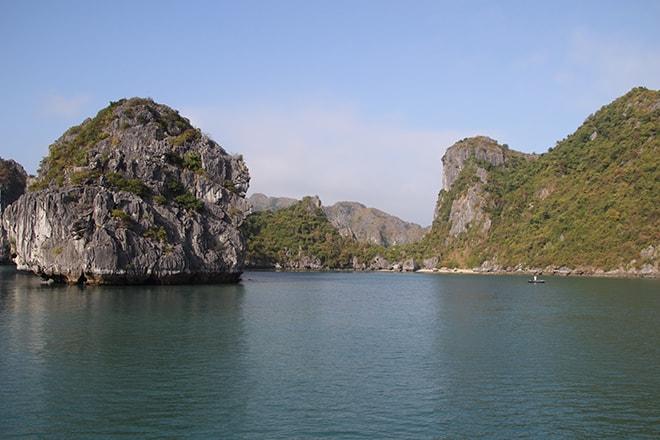 Ha Long Baie Cat Ba croisière dans la Baie d'Halong