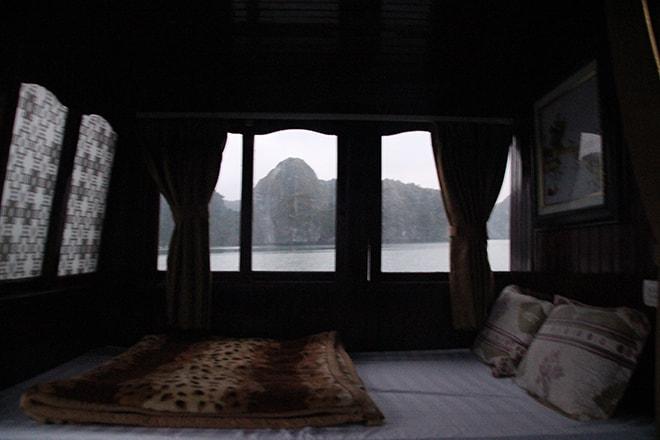 Lit croisière Cat Ba Baie de Halong