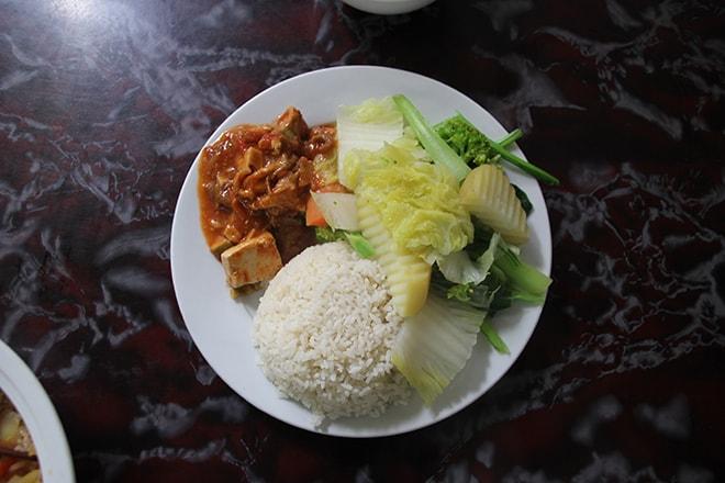 Végétarien Cat Ba Vietnam