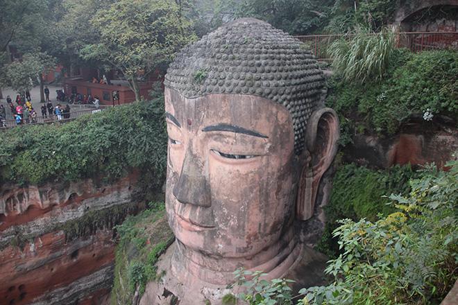 Le Bouddha Géant de Leshan