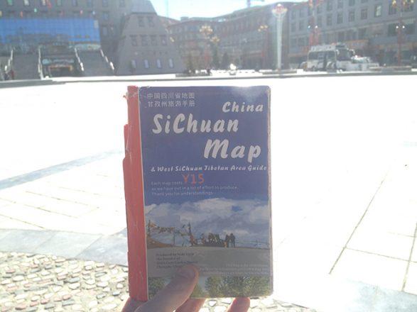 Carte du Sichuan en Chine