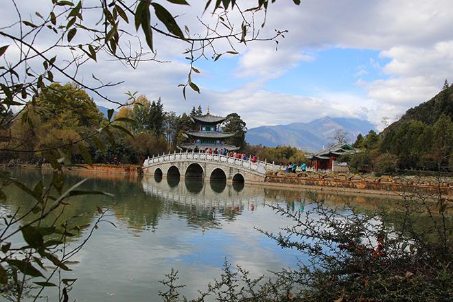 Le Black Dragon Pool Park à Lijiang