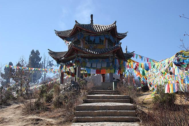 monastere à shangri-la
