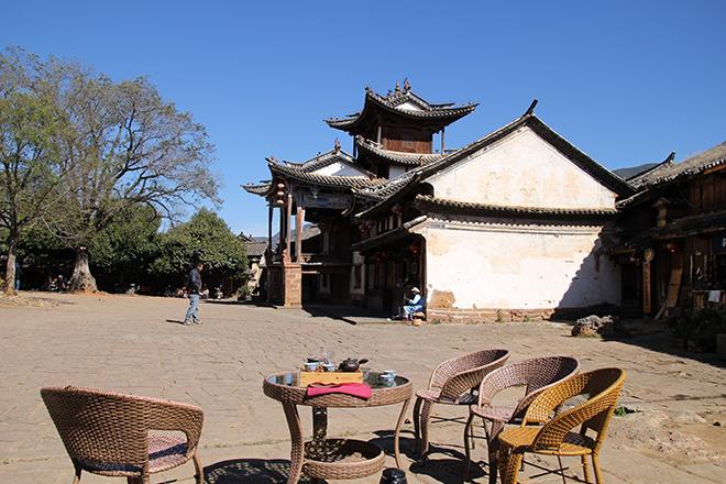 L'ancien théâtre de Shaxi