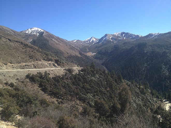 En route vers le Yunnan