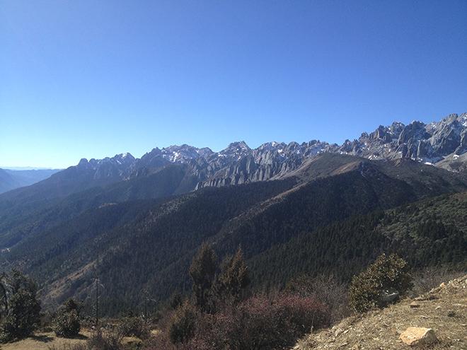 En route vers le Yunnan depuis le Sichuan