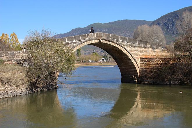 Le pont Yujin à Shaxi