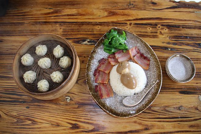 Dumplings et local barbecue Pork à Steamed stuffed buns