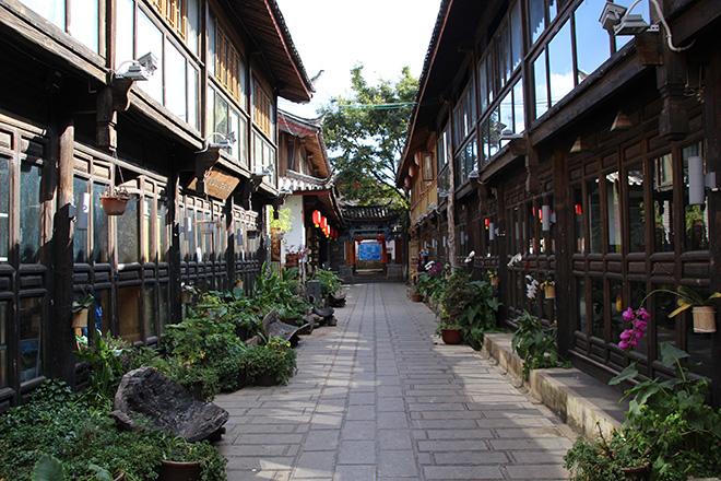 Village de Shuhe près de Lijiang