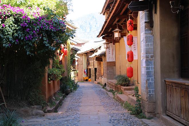 Le vieux village de Shaxi dans le Yunnan (Chine)