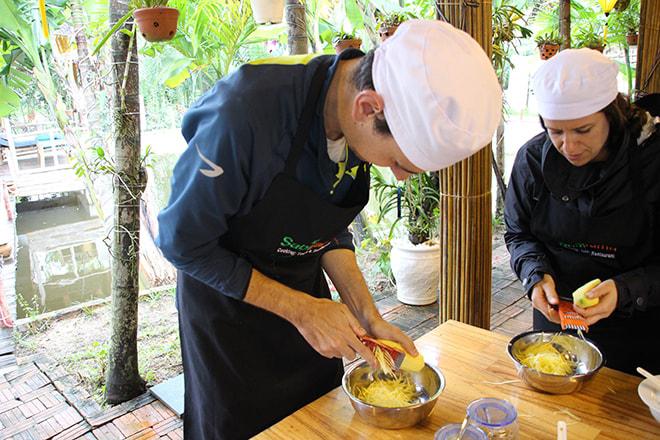 Cours de cuisine Tom Hoi An Vietnam