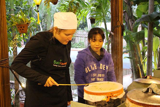 Crepes Cours de cuisine Hoi An Vietnam